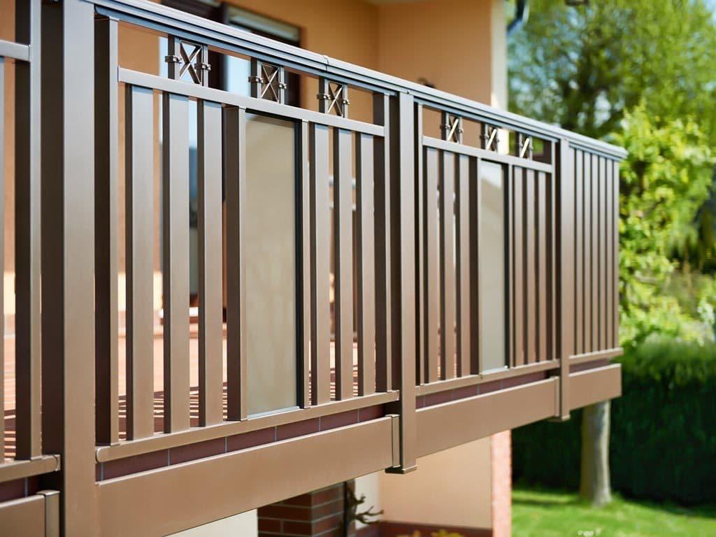 Balkone aus Aluminium