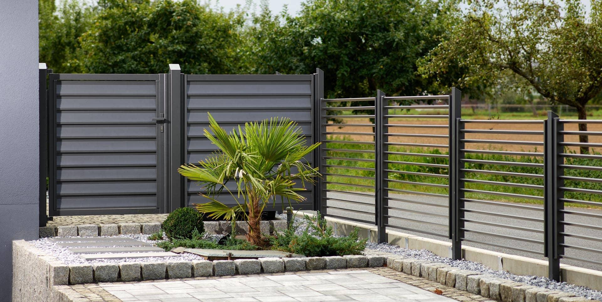 Lamellen Aus Aluminium Sichtschutz Balkon Garten Terrasse