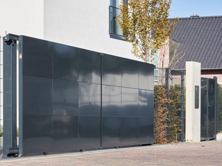 Sichtschutz aus Metall