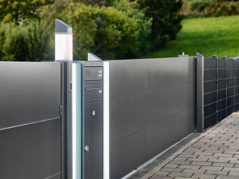 Gartenzaun in Aluminium aus Kärnten