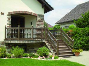 Balustrade für den Treppenaufgang